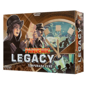Pandemic Legacy- Temporada 0.