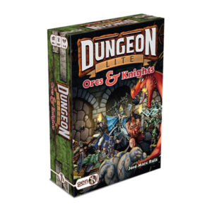 Dungeon Lite- Orc and Knight